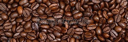 full frame shot of roasted coffee