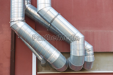 air vent ducts of air conditioning