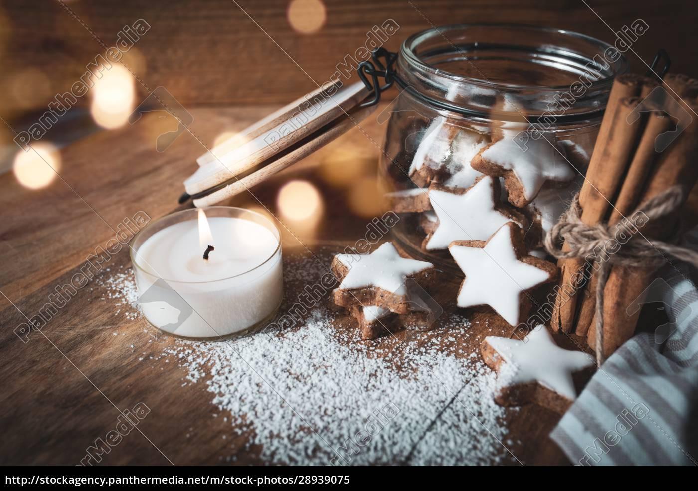 christmas, still, life, with, cinnamon, stars - 28939075