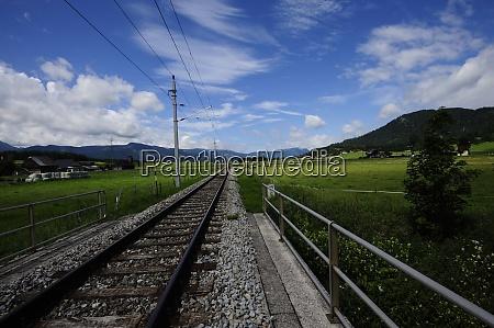 rail of a local railroad