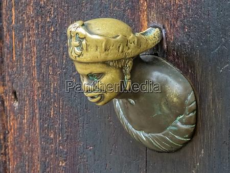 bronze door handle venice