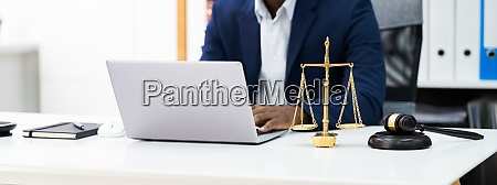 african american lawyer or judge legal
