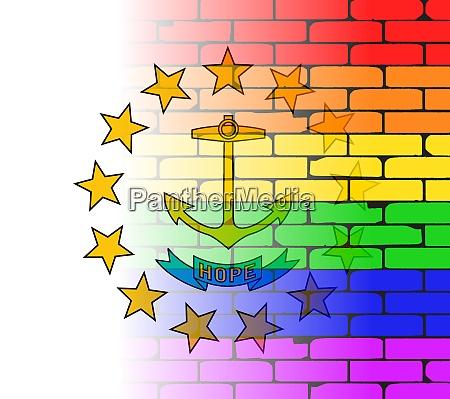 rainbow wall rhode island