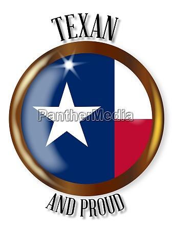 texas proud flag button