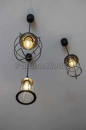 lighting decoration with vintage ceiling lights