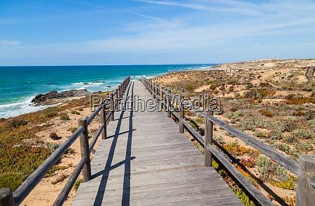 beach near vila nova de milfontes