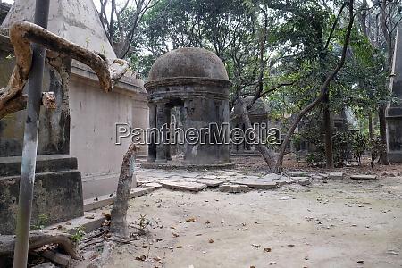 kolkata park street cemetery india