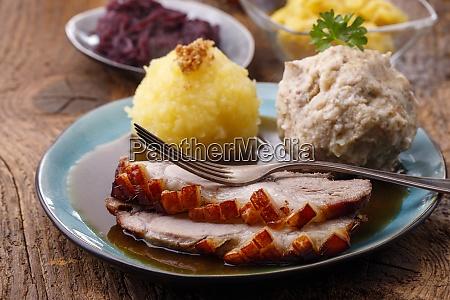 bavarian roasted pork