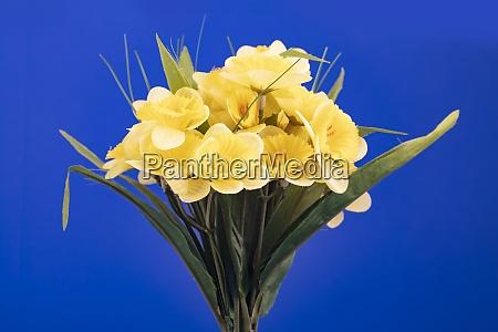 bouquet of artificial jonquil