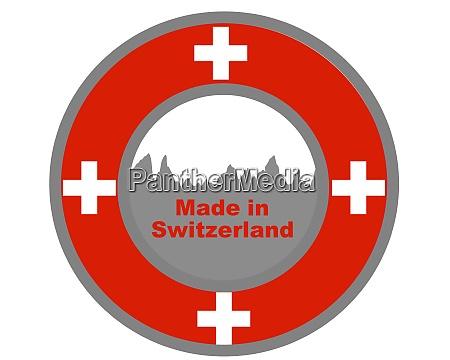 qualitaetssiegel made in switzerland