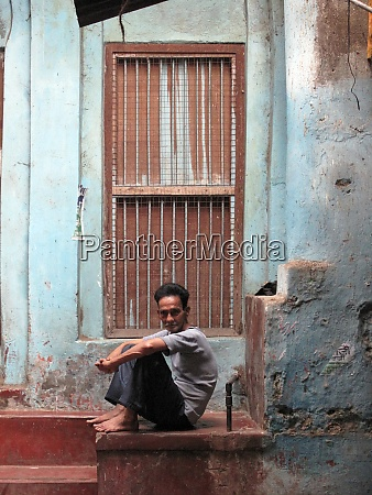 streets of kolkata portrait of indian