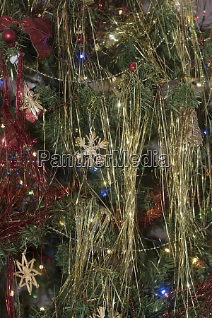 christmas star as christmas decoration