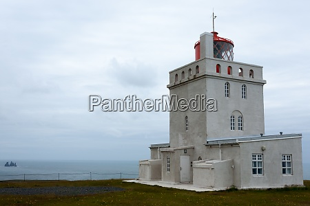 dyrholaey lighthouse view south iceland landmark