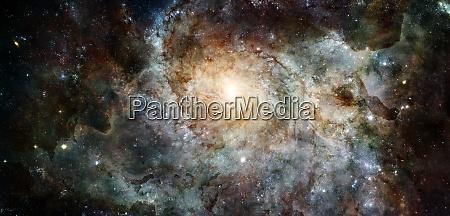 spiral galaxy deep cosmos outer space