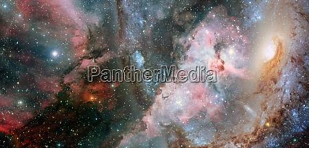 science fiction wallpaper billions of galaxies