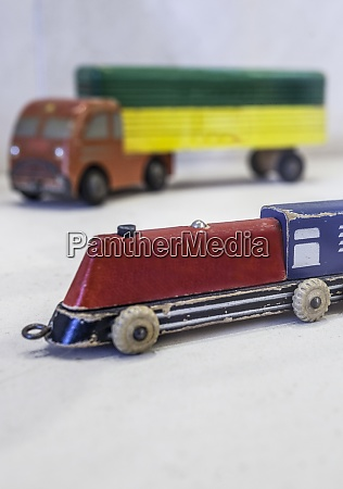 old wheeled transport toys