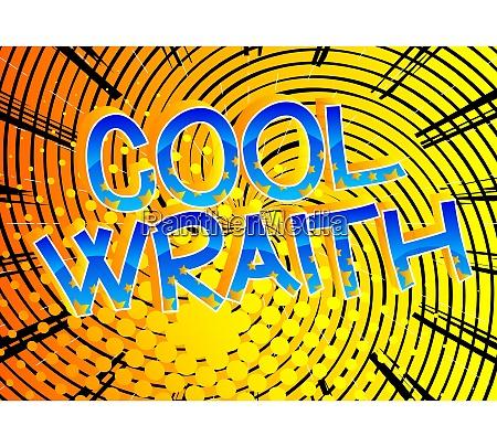 cool wraith comic book style cartoon