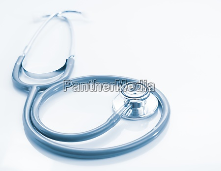 stethoscope for doctor checkup on table