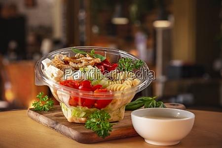 chicken salad with pasta