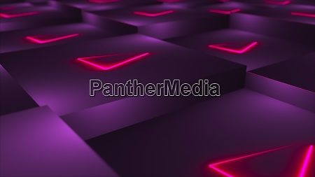 3d rendering backdrop of cubes with