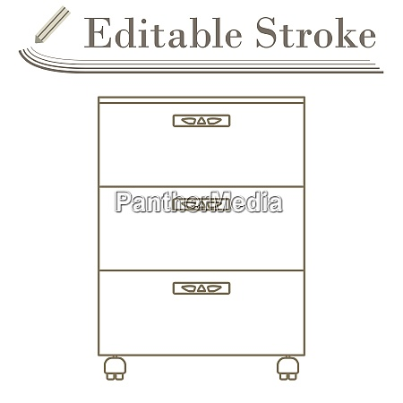 office cabinet icon