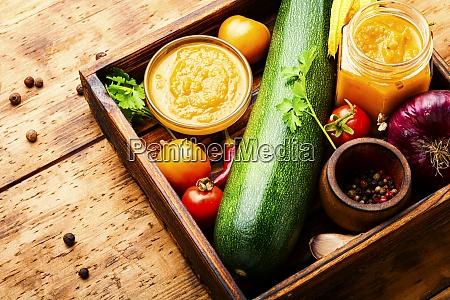 homemade zucchini caviar