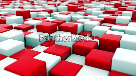 3d rendering background of white and