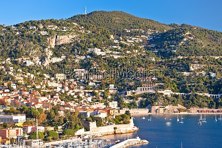 villefranche sur mer and french riviera