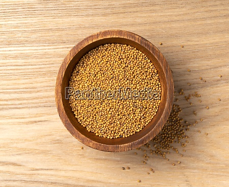 top view of a mustard seed
