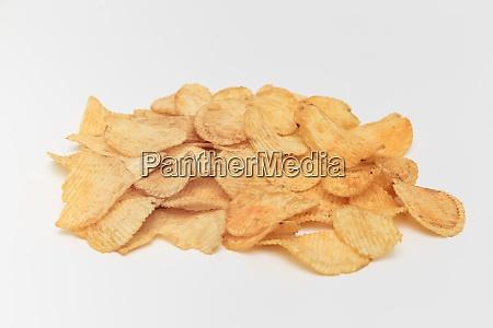 slice of potato chips on a
