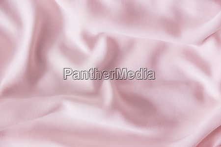 pink wrinkled silk fabric the pink