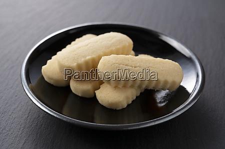 the sweets of okinawa japan chinsuko