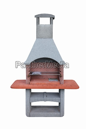 outdoor fireplace barbecue grill made