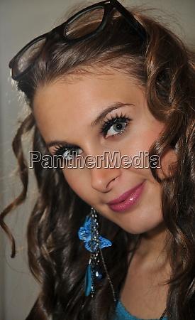 portrait of a beauty girl