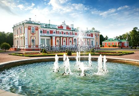 kadriorg palace built by russian czar