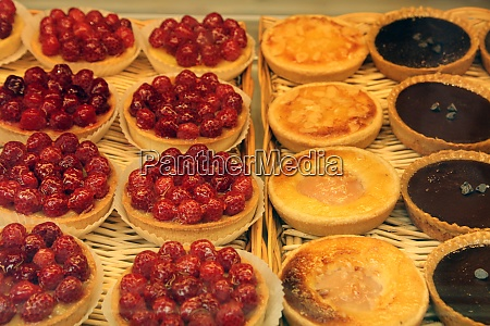 pastries in bakery