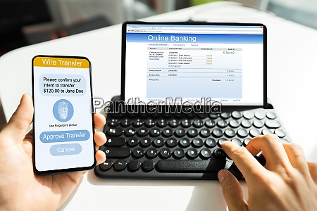 online 2 factor bank authentication