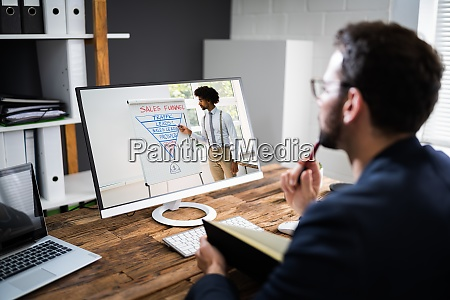 virtual, online, coaching, meeting - 28983207