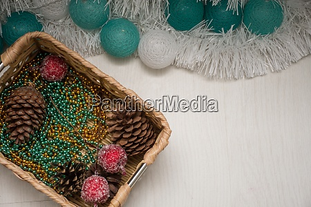 christmas garland box