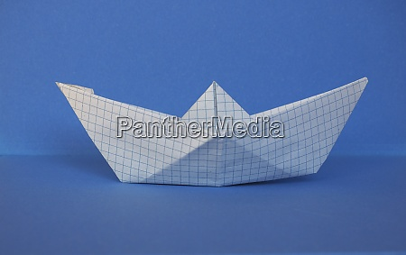 toy paper boat