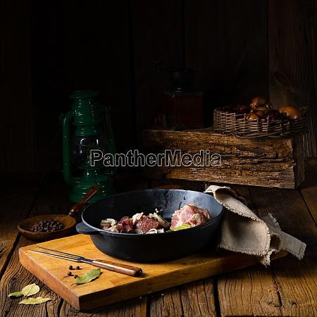 raw east frisian snirtje roast with