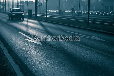 city car traffic cars on