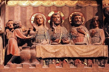 last supper of christ notre
