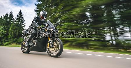 triumph daytona triple racing motorbike on