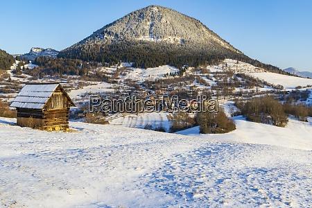 sidirovo hill with vlkolinec village unesco