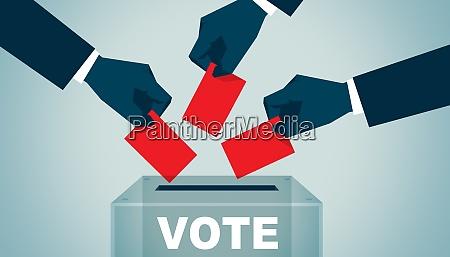 vote on democratic elections referendum make