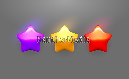 vector star icons set collection icon