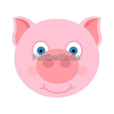 cute piggy face