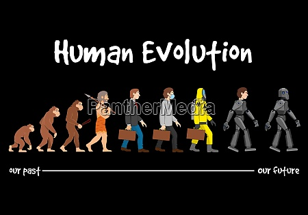 evolution a robotic future
