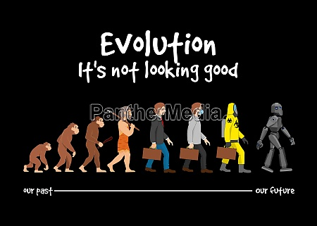 evolution its not looking good